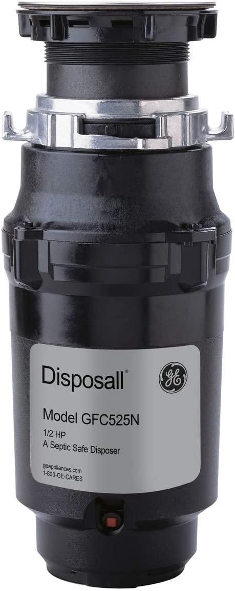 GE GFC525N 1/2 HP Continuous Feed Garbage Disposer - Corded