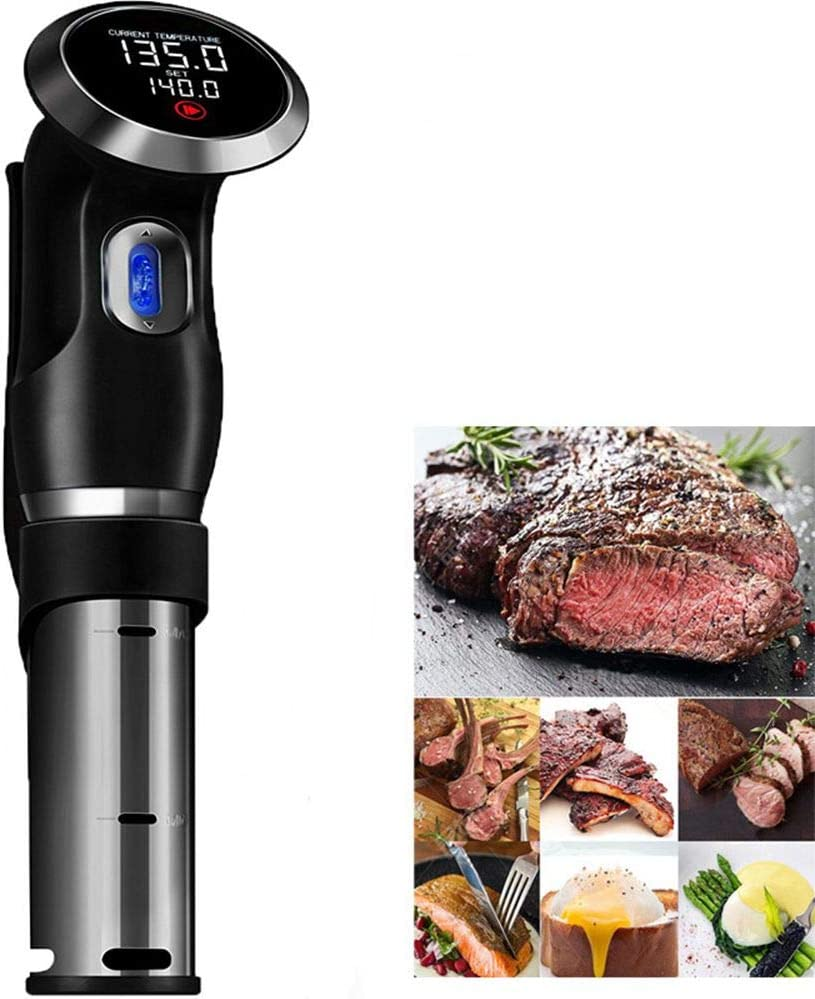 Sous Vide Cooker Sturdy Immersion Circulator 1500 Watts Powerful Motor and Digital Display (EU Plug, 220V)