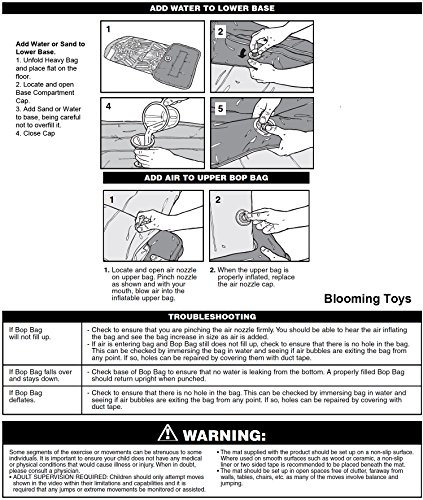 38'' Intex 3D Inflatable Dinasour Bop Bag/Punching Bag by GoodyPlus (Image #4)