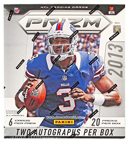 2013 Panini Prizm NFL Football Hobby Box (20 Packs)