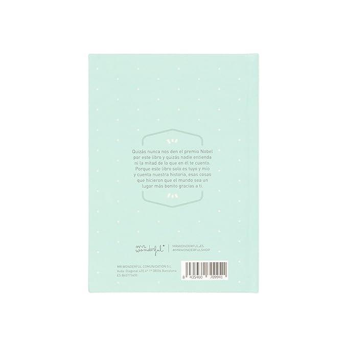 Mr. Wonderful WOA03808ES - Libro de las historias tuyas y mías (y de nadie más)