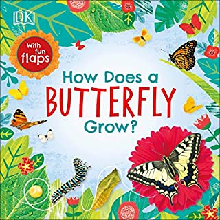 Book Cover: How Does a Butterfly Grow?