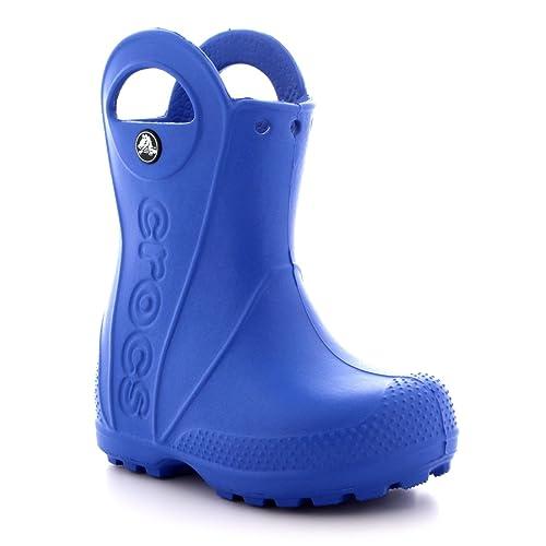 f9bb70acc Crocs - Botas de Lluvia con Mango para niños