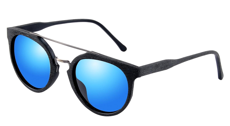 Holz Style Aviator / Wayfarer polarisierte Sonnenbrille Ganzer Rahmen Eyewear