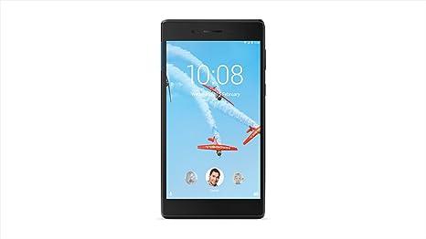 Lenovo Tab 7 Essential, 7-Inch Android Tablet, MediaTek 64-bit (Quad-Core  1 3 GHz) Processor, 1GB RAM, 16GB Storage, Black, ZA300146US