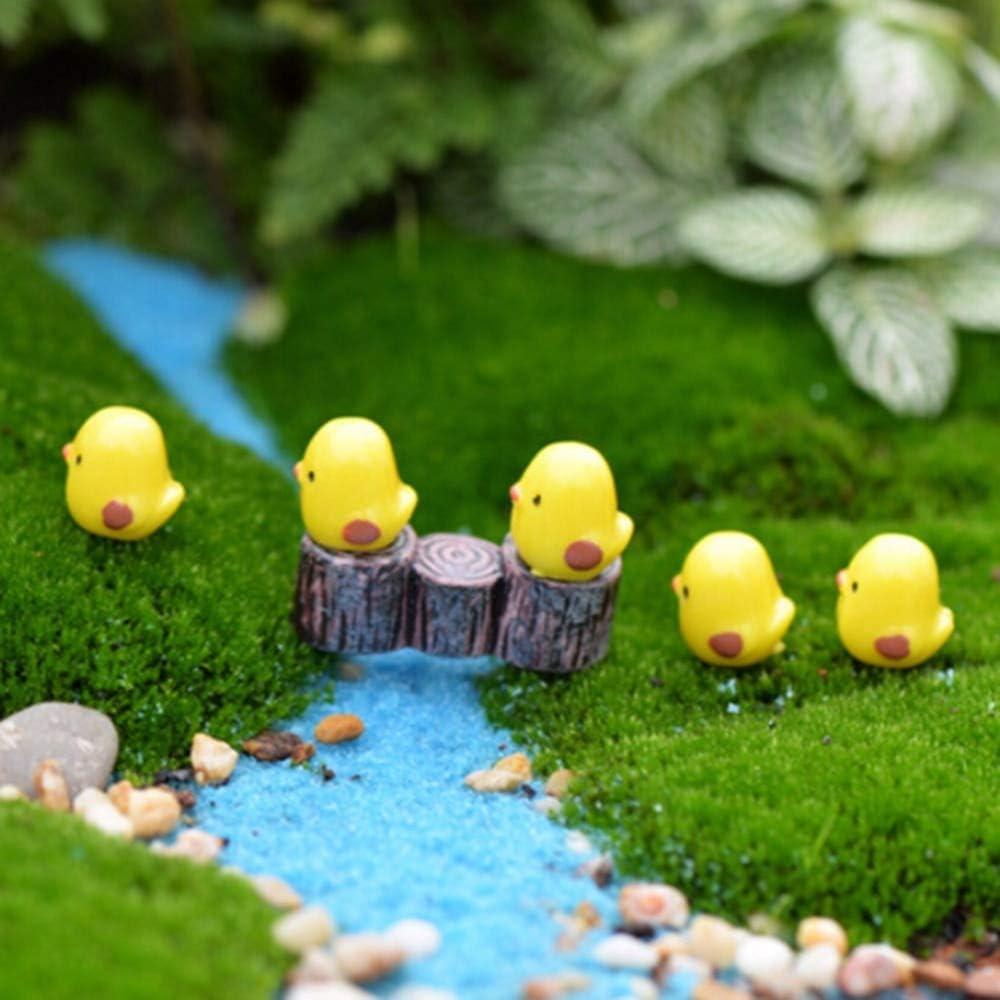 Amazon Com Figurines Miniatures 10pcs Micro Landscape Chicken