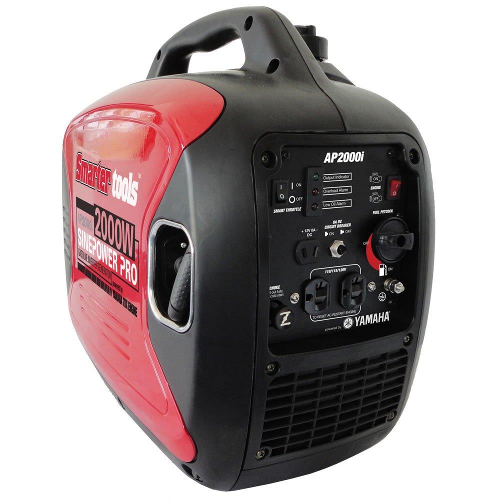 Smarter Tools St Gp2000i Inverter Generator Yamaha Circuit Breaker Ebay Engine 2000 Watt Power Generators Garden Outdoor