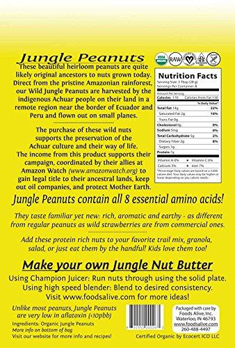 Foods Alive Superfoods Jungle Peanuts 8 oz 227 g