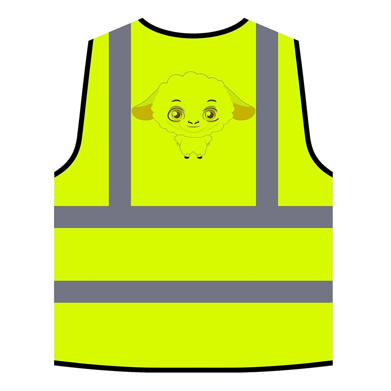 Funny Farm Animal Collection Cute Pet New Personalized Hi Visibility Yellow Safety Jacket Vest Waistcoat c356v