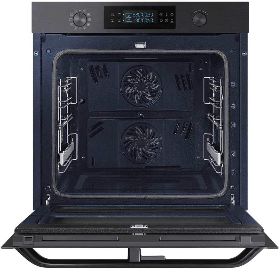Samsung NV75N5671RM//EG Pyrolyse Backofen Black Steel Dual Cook Flex