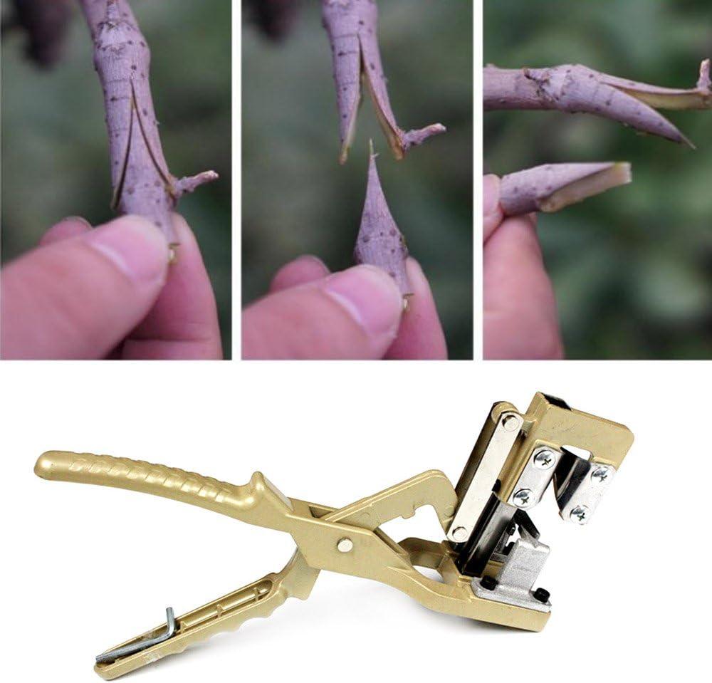 Moonvvin herramienta de corte de mano para plantas, cortador de semillas, máquina de cortar de árbol de frutas para rama de jardín, herramienta de corte de grafiado