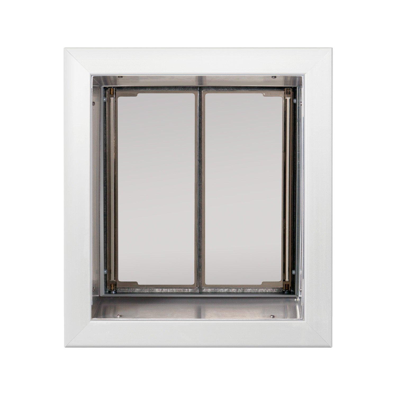 Amazon Plexidor Performance Pet Doors Medium White Wall Mount