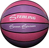 Sterling Purple/Pink 16 Panel 28.5 Size 6 Rubber Basketball