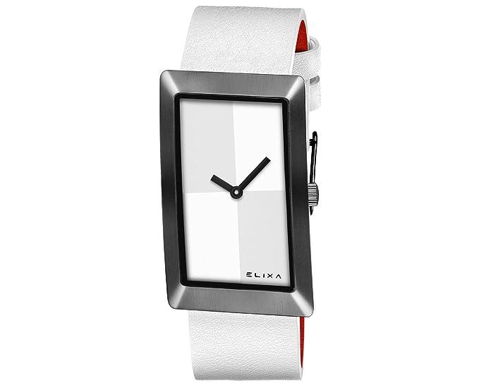 Reloj Elixa Finesse Mujer Solo Tempo Lady acero PVD Black ...