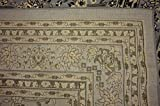 Unique Loom Kashan Collection Gray 10 x 13 Area Rug