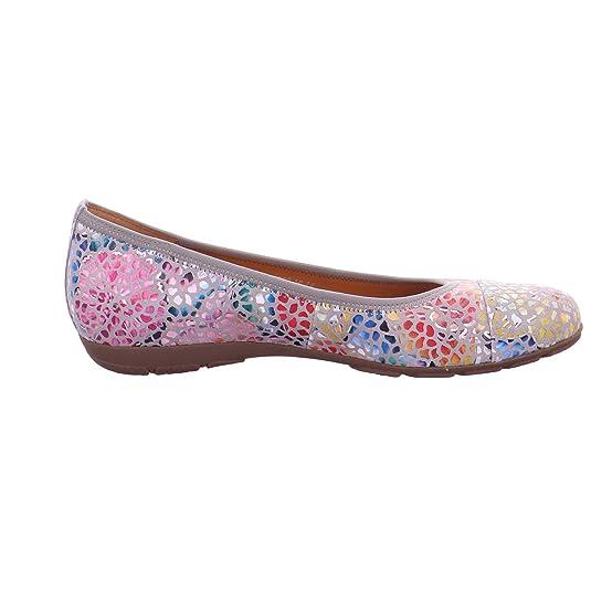 Gabor Damen Ballerinas NV 24.161.39 39 bunt 614964: Amazon