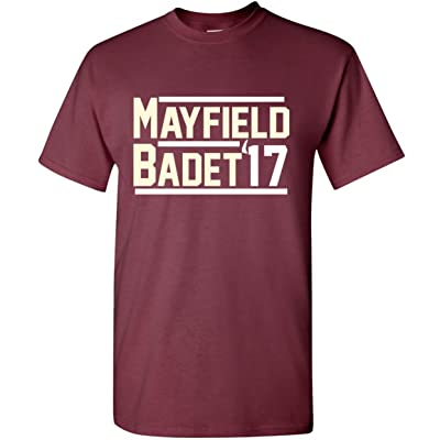 The Silo MAROON Oklahoma Mayfield Badet 17 T-Shirt