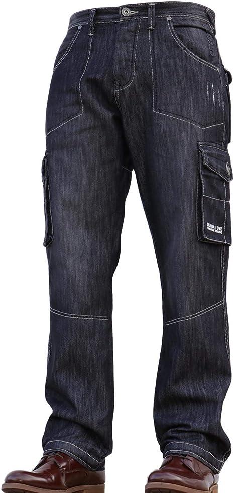 Denim & Dye Pantalones Vaqueros para Hombre de Jean y teñido ...