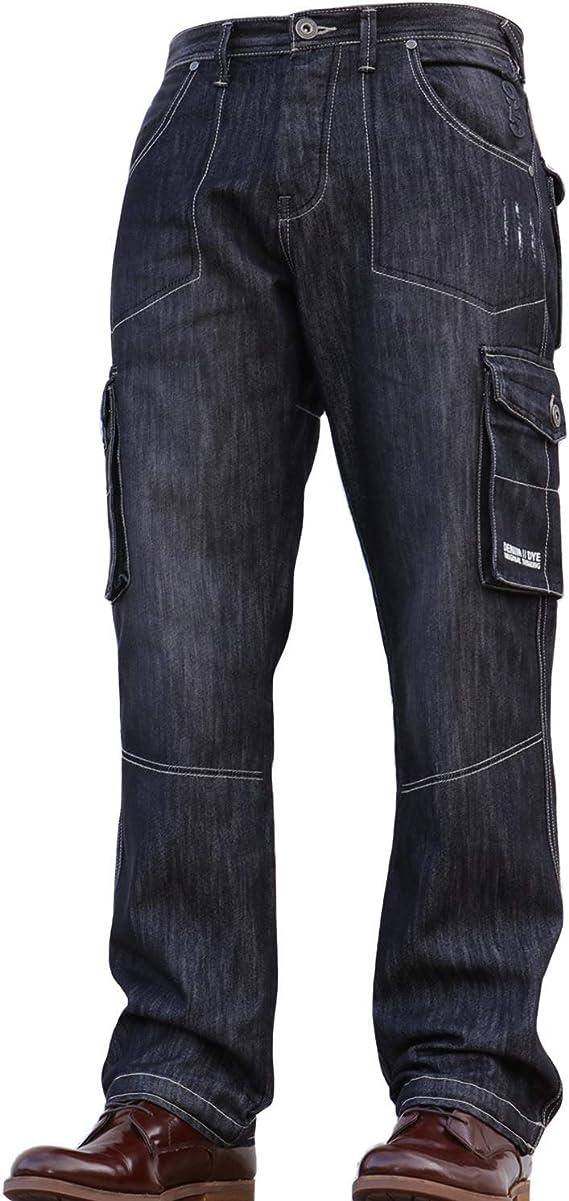 Denim & Dye Pantalones Vaqueros para Hombre de Jean y ...