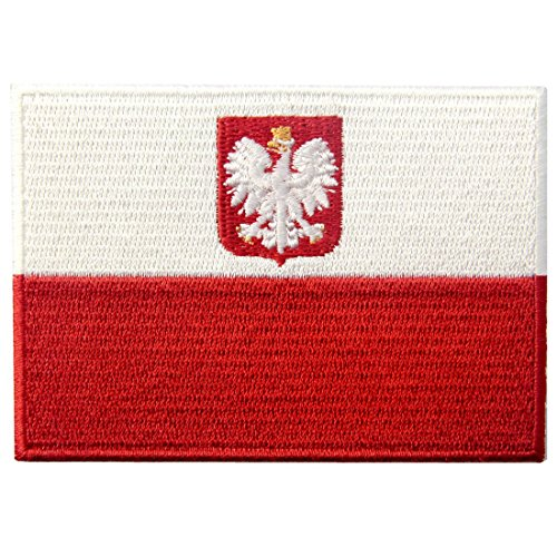Poland Costumes For Men - Poland Flag Embroidered Swallow Bird Emblem Polish Iron On Sew On Polska