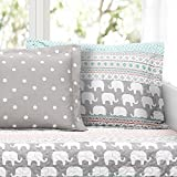 Lush Decor Elephant Stripe 6 Piece Daybed Cover