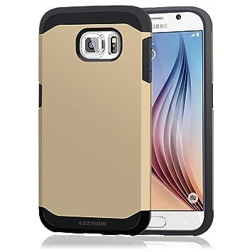 Samsung Galaxy S6 Carcasa Móvil, Ezzy Mob® Carcasa para Galaxy S6, Resistente a Golpes, antiarañazos, Armor Case para Samsung Galaxy S6.