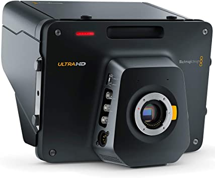 Amazon Com Blackmagic Design Studio Camera 4k Broadcast Camera For Live Production Camera Photo