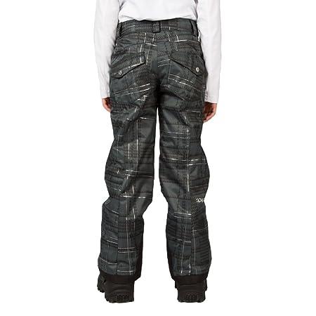 22102df57 Amazon.com : Spyder Vixen Tailored Girls Ski Pants - 20/Black Check Plaid  Print : Sports & Outdoors