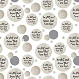 Be Still and Know that I am God Psalm Inspirational Christian Premium Gift Wrap Wrapping Paper Roll