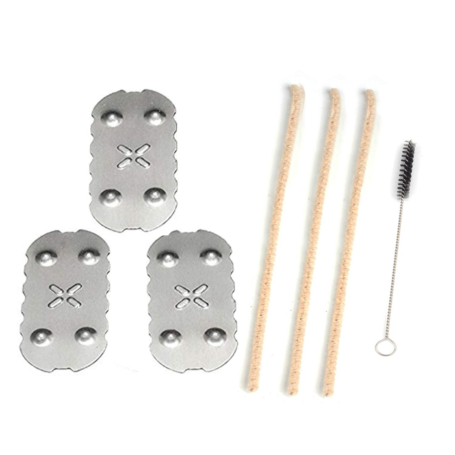[3 Pack] Screens for Px 2 Px 3, [3+1] Pipe Cleaners Hard Bristle and Black Brush for Cleaning