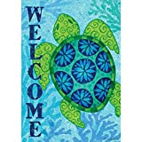 Sea Turtle – Standard Size, Decorative Double Sided, Licensed and Copyrighted Flag – Printed IN USA by Custom Decor Inc. 28 Inch X 40 Inch approx. Review