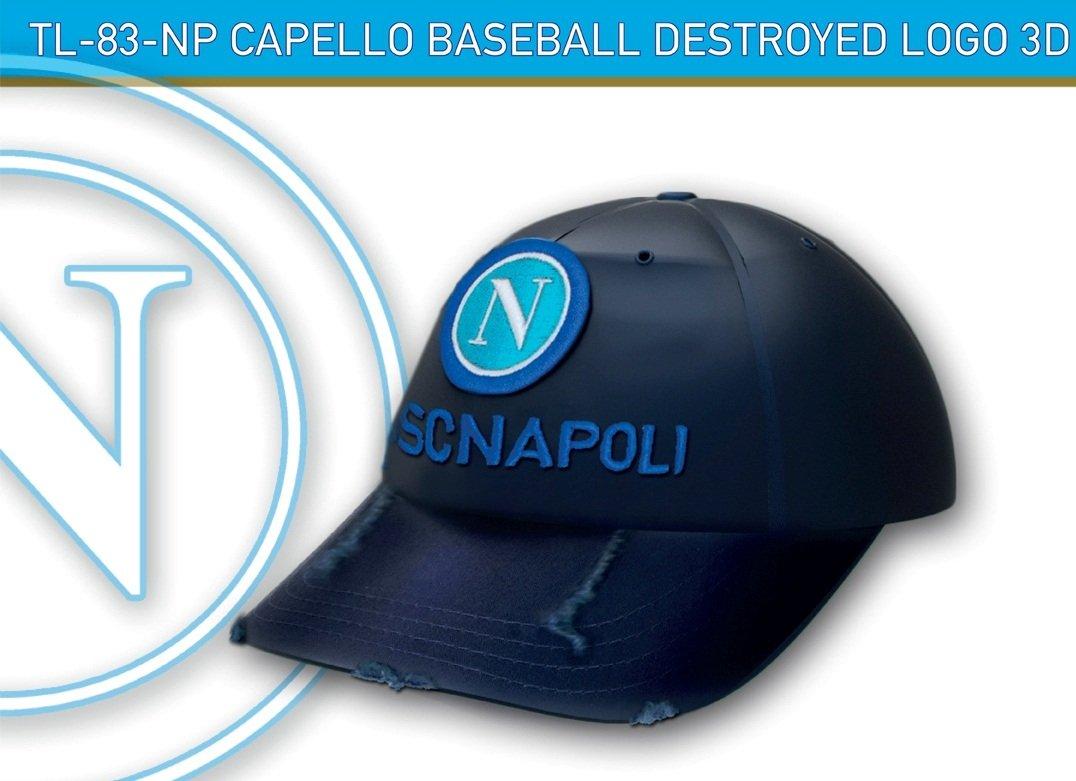 SSC Calcio Napoli cappellino con visiera Asinello forza Napoli nemesi