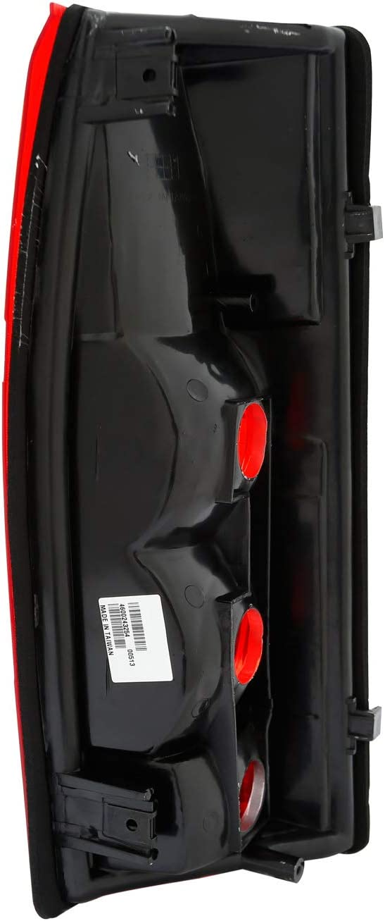 Tahoe Sierra Yukon AmeriLite Red Replacement Tail Light Housing Set for Chevy GMC Full-Size Silverado