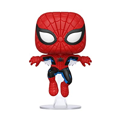 Funko Pop! Marvel 80th - First Appearance Spiderman: Toys & Games