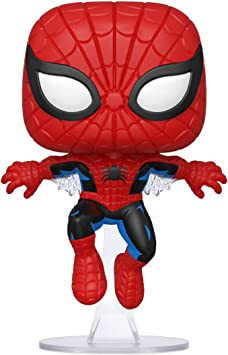 Oferta amazon: Funko- Pop Marvel: 80th-First Appearance Spider-Man Collectible Toy, Multicolor (46952)