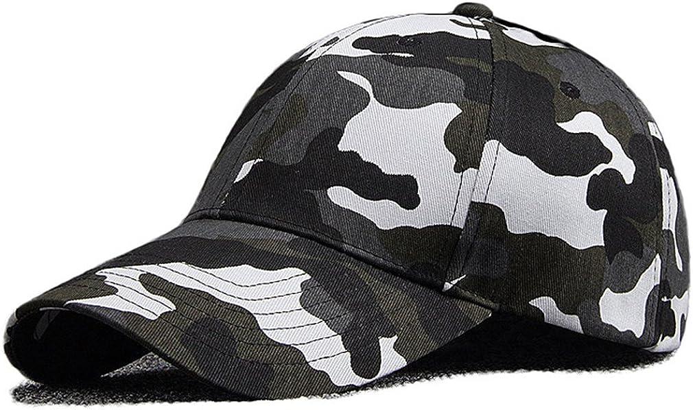 Unisex Camouflage Baseball...