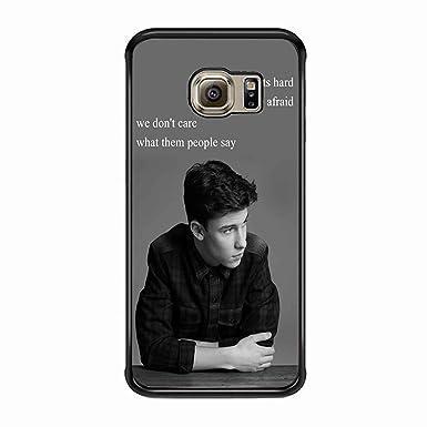 wholesale dealer ca3a6 07ace Mr Shawn Mendes Samsung Galaxy S6 Edge Plus Case (Black Plastic ...