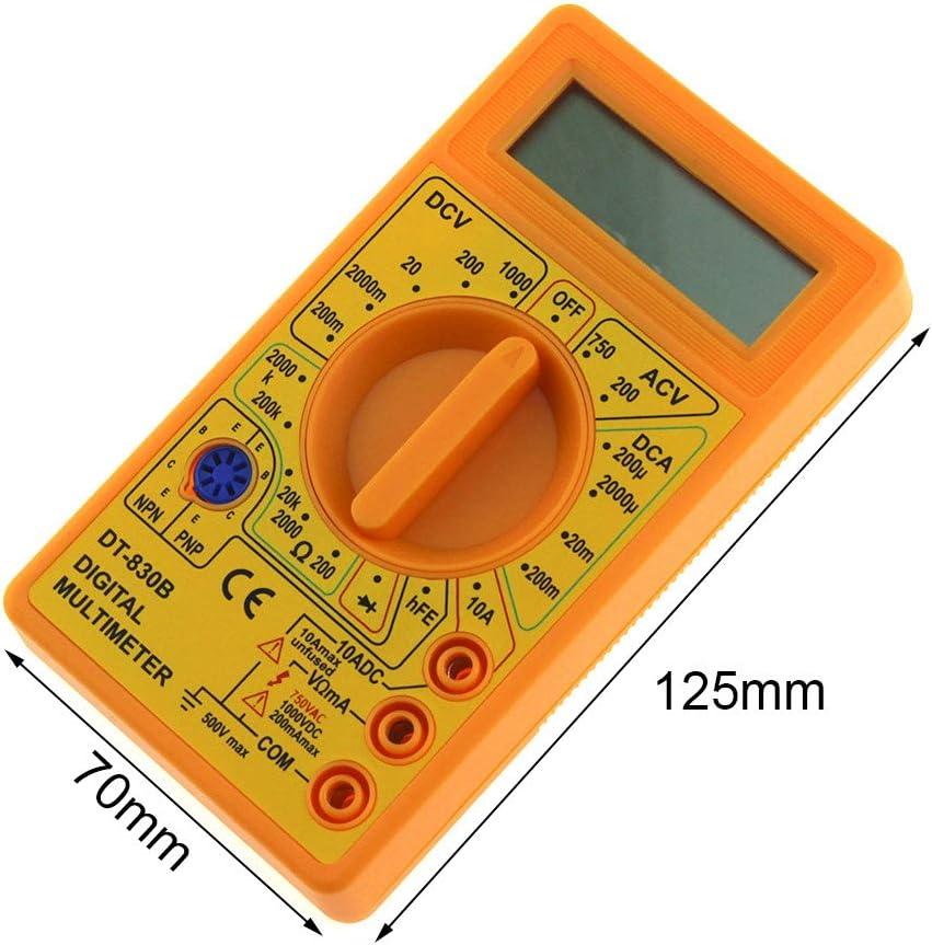 Hoomall Digital Multimeter Spannungsmesser Automatisch Voltmeter Tragbare Pr/üfvorrichtung Tester f/ür Zuhause Schule Labor mit LCD-Anzeige