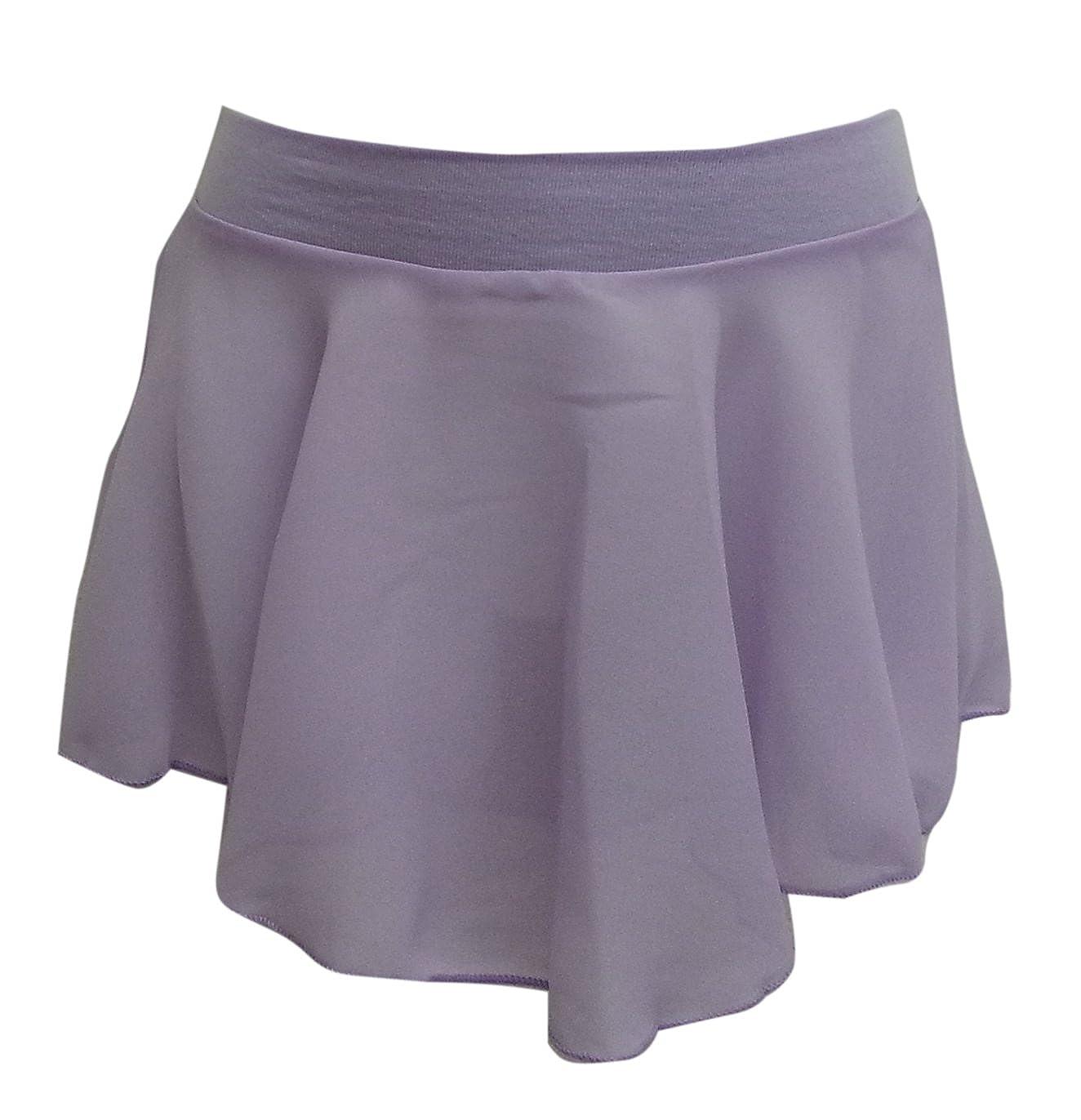 DanceNwear Basic MovesBig Girls Georgette Ballet Skirt Pull-on Skirt BM#2155-BK