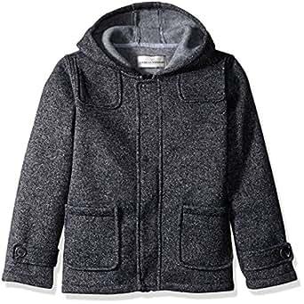 Amazon Com Widgeon Boys Fleece Heather Tweedy Coat Clothing