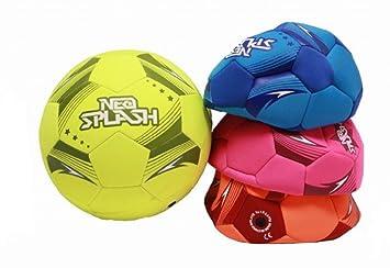 Neo Splash - Balón de fútbol deshinchado de neopreno, con tacto ...