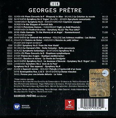 ICON Georges Pretre The Symphonic Recordings