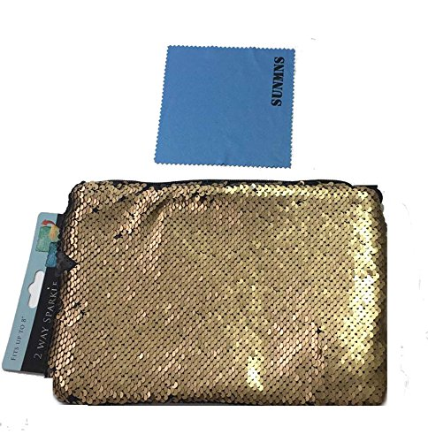 Silver Glitter Across The Body Bag - 9