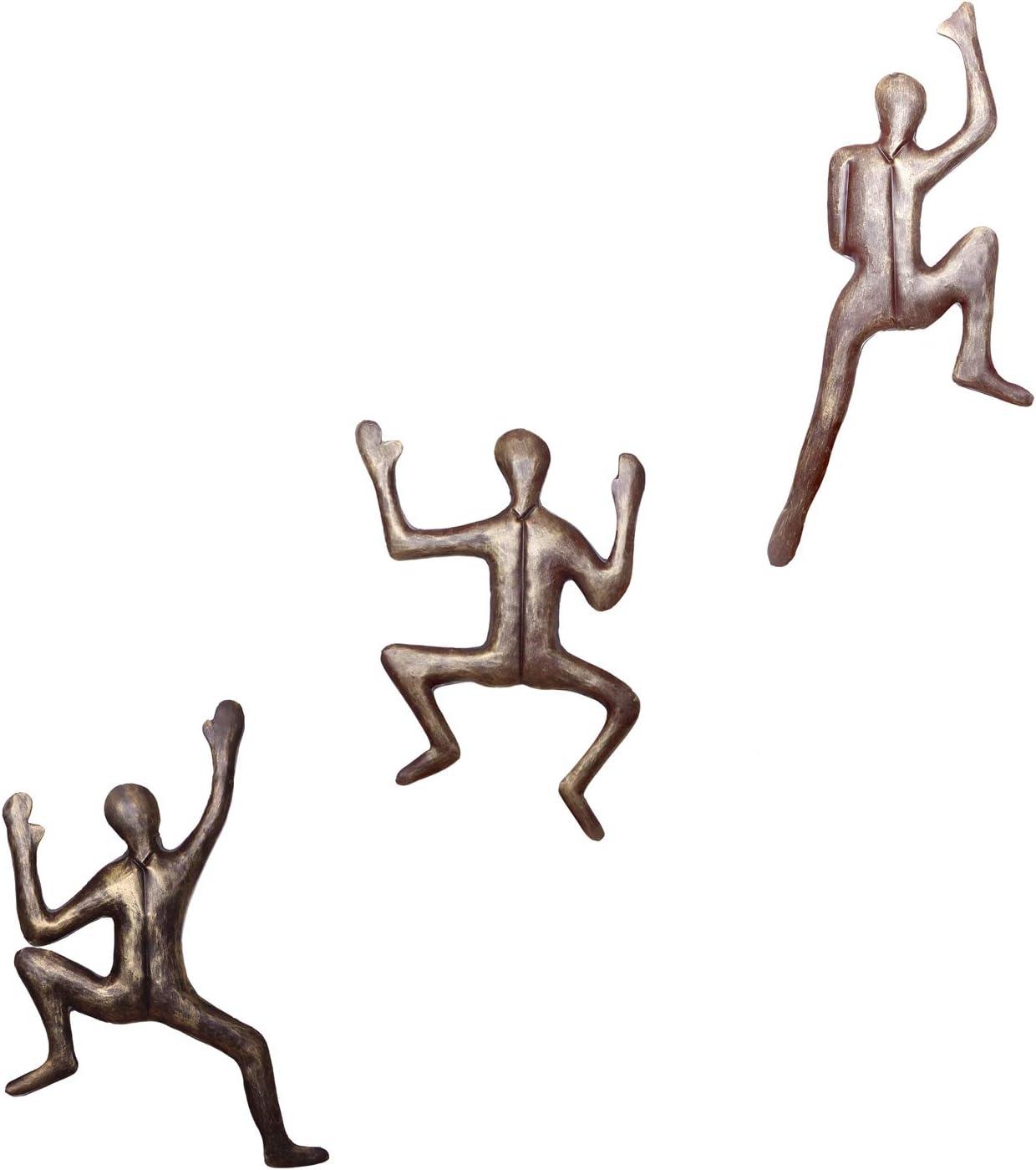 3 esculturas de Pared para Escalada WILLART decoraci/ón del hogar Escalada Regalo Pared Escalada dise/ño contempor/áneo Escalada ilustraci/ón decoraci/ón de monta/ña Escalada