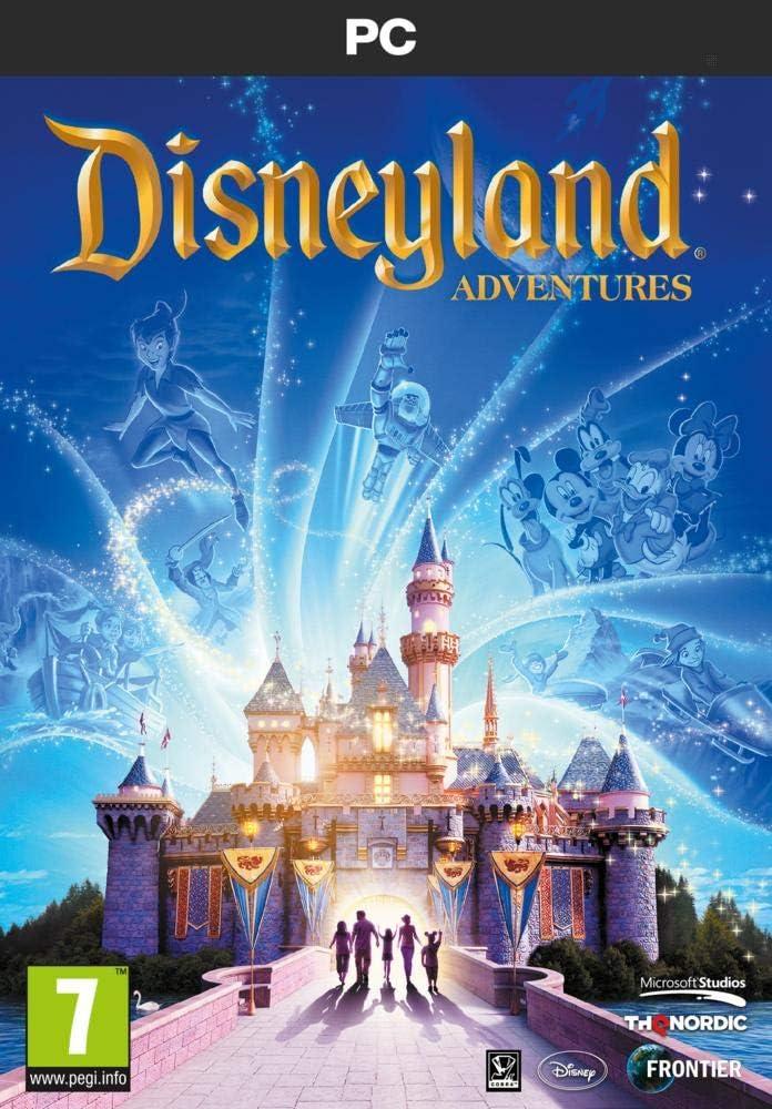 Disneyland Adventures PC DVD