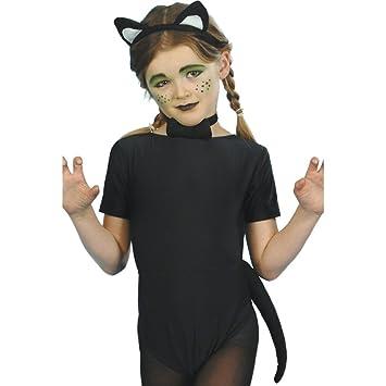 Traje de gato para niños disfraz animal vestuario carnaval ...