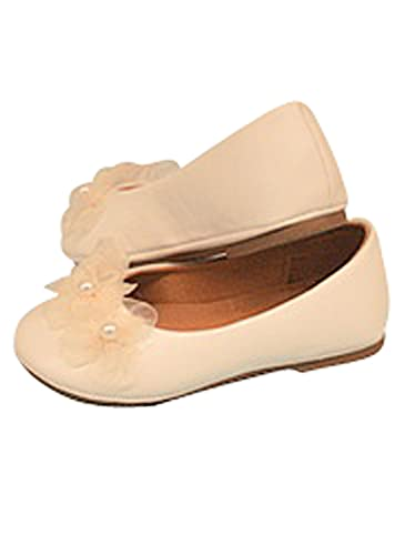 Amazon Classy Ivory Flower Girl Shoes Shoes