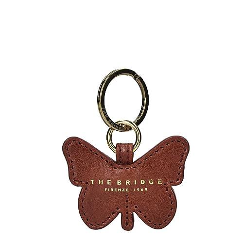 5ff02fbe8b The Bridge Passpartout Donna Butterfly Portachiavi pelle 7 cm marrone:  Amazon.it: Scarpe e borse