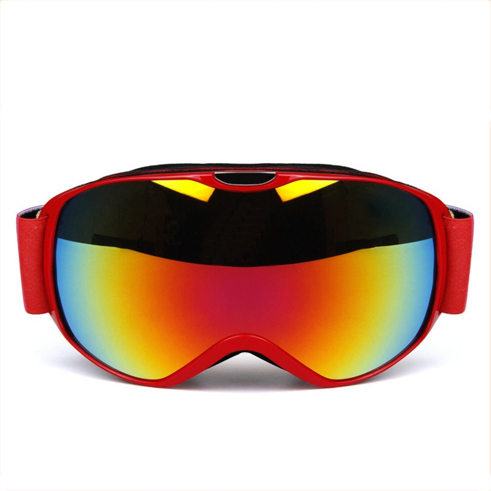 DESESHENME Ski-Schutzbrillen-Ski-Ausrüstungs-Doppeltes Anti-Fog im Freien, Das windundurchlässige Ski-Brillen klettert