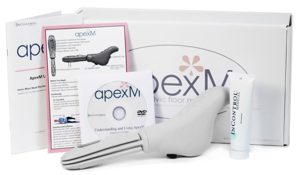 ApexM Bladder Control Device | Cures Stress & Urge Incontinence | Kegel Exerciser for Women | Pelvic Floor Exerciser with App | USA Made, FDA Cleared | by InControl Medical